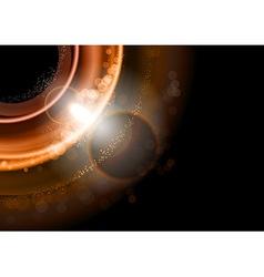 background gold dark vector image
