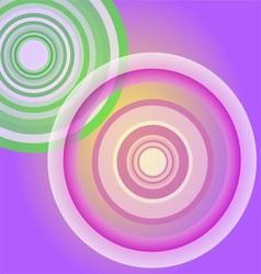 Circle Light purple background vector image
