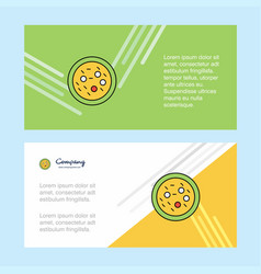 Bacteria on plate abstract corporate business vector