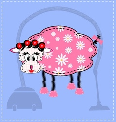 Image of a sheep vector