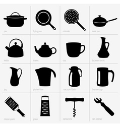 Kitchenware part 2 vector image