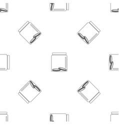 money in jar pattern seamless vector image