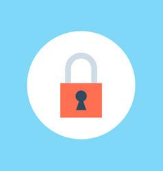 padlock icon sign symbol vector image