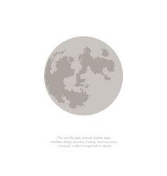 phases of the moon icons new moon vector image