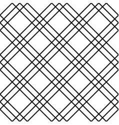 Seamless monochrome background squarish pattern vector