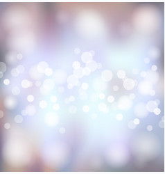 silver festive lights background vector image