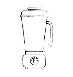 isolated electric blender kitchen vector image