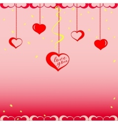 Valentine s Day vector image vector image