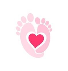 Baby Legs symbol vector