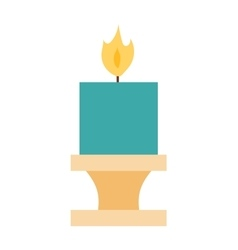 candles set vector image