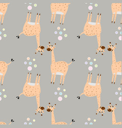 creative texture for fabric textile childish vector image