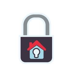home insurance symbol vector image