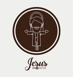 Jesus design vector