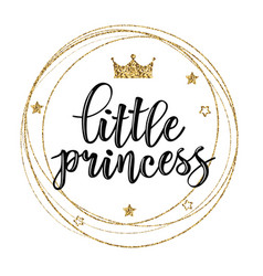 little prince text vector image