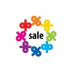 Logo sale vector