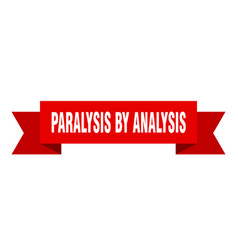 Paralysis analysis ribbon paralysis by vector