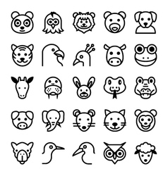Animals and Birds-1 vector image