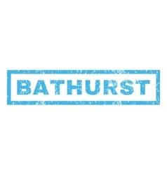 Bathurst Rubber Stamp vector image vector image