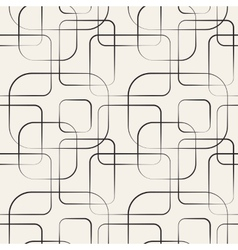 Abstract geometric line and square seamless vector image