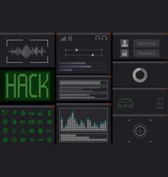 Automobile hack computer program vector