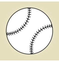 baseball sport design vector image