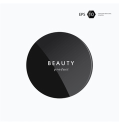 Beauty package presentation product vector