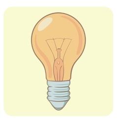 Cartoon layered - bright vector image