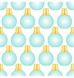cosmetic bottle pattern vector image