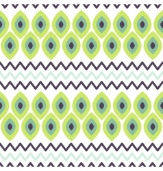 Ethnic tribal scale seamless pattern vector