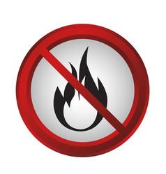 Forbidden signs design vector