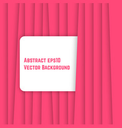 pink abstract background like curtain vector image