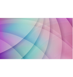 Soft blue and pink round shapes background vector