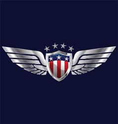 American wings vector