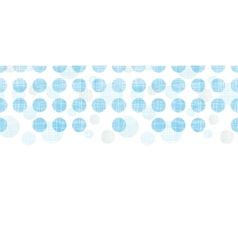 Abstract textile blue polka dots stripes vector image
