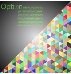 Grey Abstract Geometrical Background vector image vector image