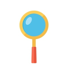 Magnifying glass Searching symbol vector image vector image