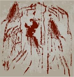 Blood spots vector image