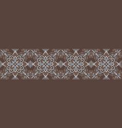 Azulejo tile seamless pattern vector