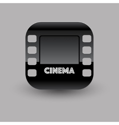 Cinema icon eps10 vector image