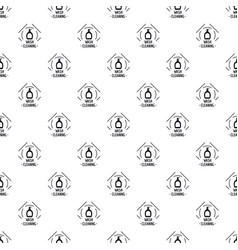 cleaning wash pattern seamless vector image