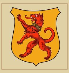 Heraldic beast vector