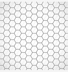 honeycomb pattern background vector image