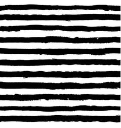 irregular striped brush strokes pattern seamless vector image