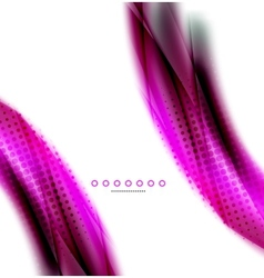 Unusual abstract background - blurred wave vector image