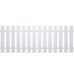 Wooden white fence farm wood wall vector