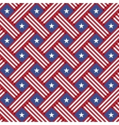 USA Independence day seamless pattern vector image vector image