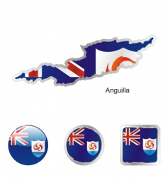 anguilla vector image