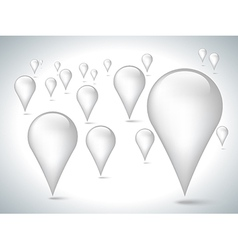white pointer vector image vector image
