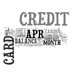 Apr credit cards true benefits text word cloud vector