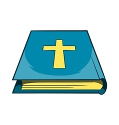 Book Of the Bible icon cartoon style vector image